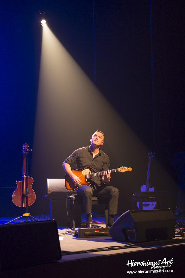 Yvan Guillevic, le guitariste